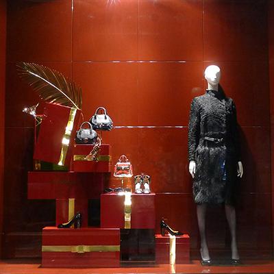2014salvatore ferragamo圣誕佳節獻禮櫥窗圖片
