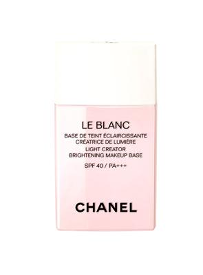 香奈兒珍珠光感超淨白防護妝前乳 #40 淡紫色 SPF40PA+++ 30ml 1,900元