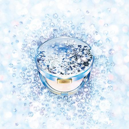 资生堂2014年圣诞节限定 心机白雪香氛魔法盒